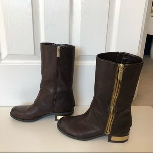 Vince Camuto Women's Windy Moto Boots in Brown